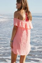 aerie Off-The-Shoulder Ruffle Dress