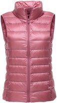 CHERRY CHICK Women's Ultralight Puffer Down Packable Vest