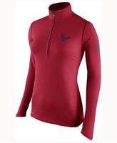 Nike Women's Houston Texans Tailgate Element Quarter-Zip Pullover