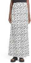 Leith Floral Print Maxi Skirt