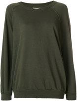 The Great frayed sweatshirt - women - Cotton - XXXS