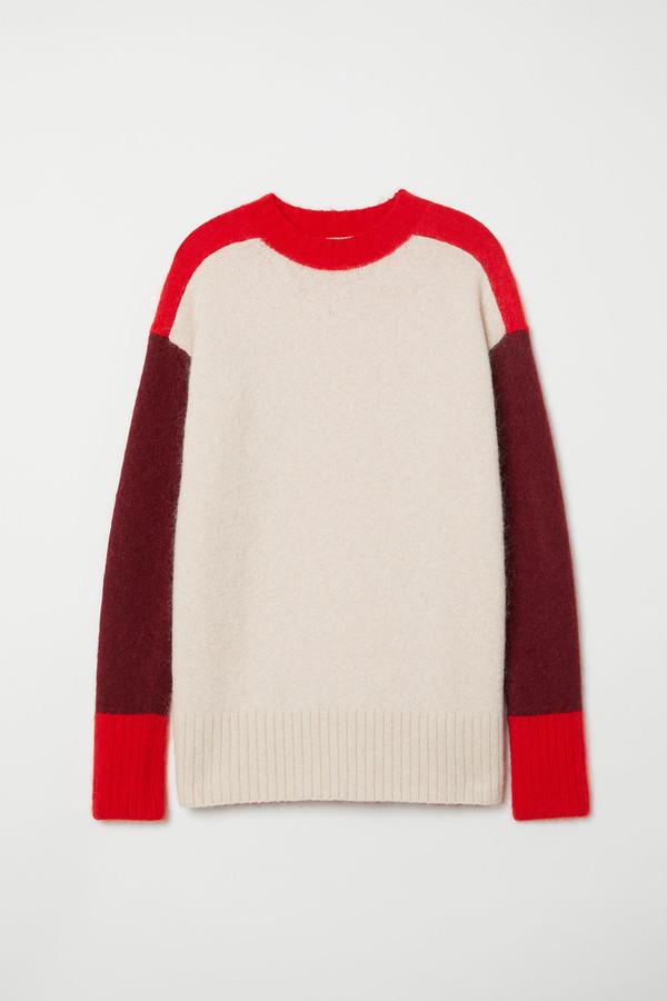 H&M Oversized mohair-blend jumper