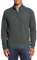 Robert Graham Jovanni Wool Quarter Zip Sweater