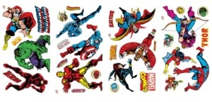 York Wall Coverings York Wallcoverings Marvel Classics Peel and Stick Wall Decals