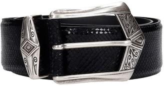 IRO Joan Belts In Black Leather