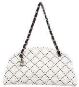 Chanel Embroidered Just Mademoiselle Bag