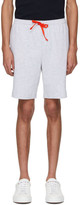BOSS Grey Contrast Logo Shorts
