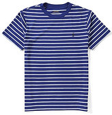 Ralph Lauren Big Boys 8-20 Striped Short-Sleeve Tee