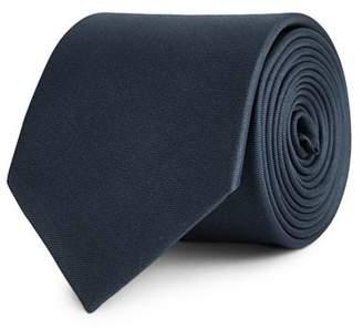 Reiss Aiden Plain Silk Twill Classic Tie