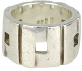 Gucci Sterling Silver Ring Size 6.25