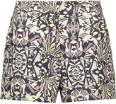 M Missoni Printed cady shorts