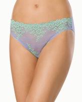 Soma Intimates Embrace Lace Bikini Violet/Bamboo