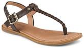Sperry Flat T-Strap Sandals - Virginia