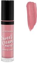 Jordana Sweet Cream Matte Liquid Lip Color - Crème Brulee