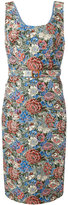 Ermanno Scervino floral motif dress - women - Cotton/Acrylic/Polyester/other fibers - 42