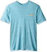 Margaritaville Men's Short Sleeve Key West Sunset Heathered T-Shirt