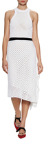 Proenza Schouler Silk Knit Dress Asymmetrical Dress