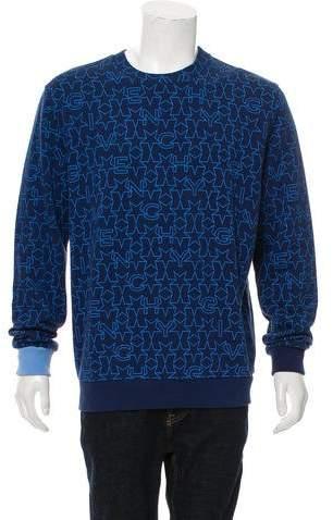 Givenchy 2016 Star Print Sweatshirt w/ Tags
