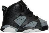Nike Boys' Toddler Air Jordan Retro 6 Basketball Shoes