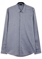 Pal Zileri Grey Cotton Shirt