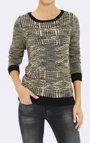 Mavi Jeans Jacquard Crew Neck Sweater