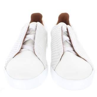 Ermenegildo Zegna White Cloth Trainers
