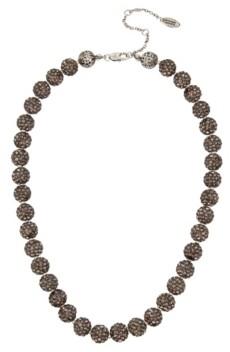 Miriam Haskell New York Caviar Beaded Collar Necklace