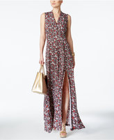 MICHAEL Michael Kors Brooks Floral-Print Maxi Dress