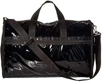Le Sport Sac Candace Classic (Black Patent) Bags