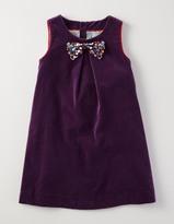 Boden Velvet Wonka Dress