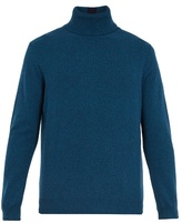 Paul Smith Stripe-detail roll-neck cashmere sweater