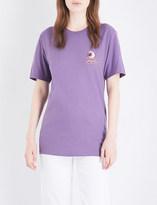Stussy Eyeball logo-motif cotton-jersey T-shirt