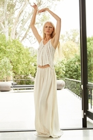 Camellia Cotton Gauze Maxi Skirt