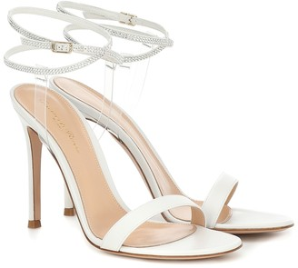 Gianvito Rossi PVC and leather sandals
