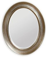 Bassett Mirror Company 33-Inch x 41-Inch Bellagio Mirror in Silver Leaf