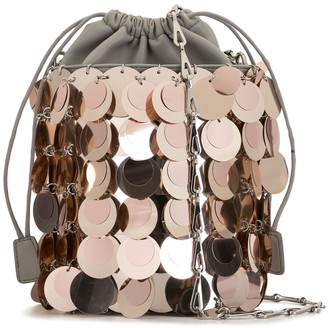 Paco Rabanne Disk Sequin Bucket Bag