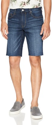 Retrofit Sportswear Men's 5 Pocket Frayed Edge Denim Shorts