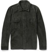 Valstar - Suede Jacket - Dark green