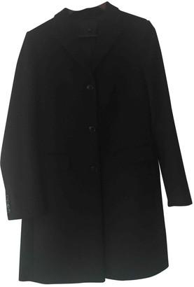 Uniqlo Black Wool Coat for Women