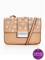 Miss Selfridge Table Metallic Embellished Bag