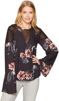 Somedays Lovin Women's Homecoming Floral Print Blouse