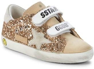 Golden Goose Baby's & Little Girl's Old School Glitter Low-Top Sneakers