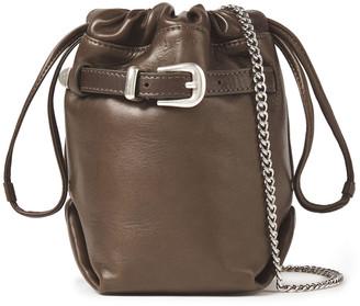 IRO Belty Buckled Leather Belt Bag