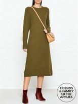Joseph Jo Pure Wool Knitted Long Sleeve Dress
