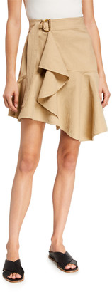 A.L.C. Amalie D-Ring Flounce Skirt