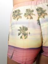 Lovers & Friends Woodstock Shorts In Malibu Palm As seen on Kourtney Kardashian