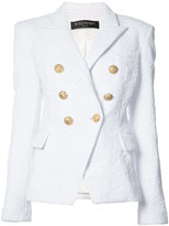 Balmain double-breasted blazer - women - Polyamide/Spandex/Elastane - 38