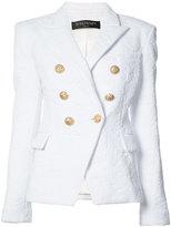 Balmain double-breasted blazer - women - Polyamide/Spandex/Elastane - 42