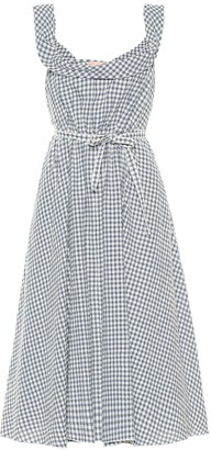 Brock Collection Patti gingham wool-blend dress