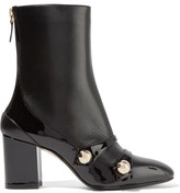 No.21 No. 21 - Studded Leather Boots - Black